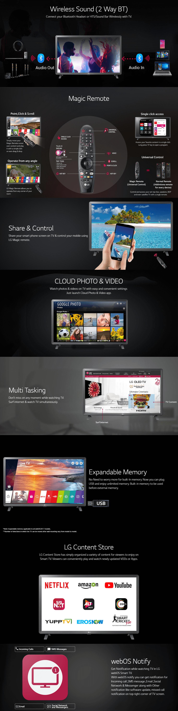 LG 32 inch HD Ready TV 32LK616BPTB